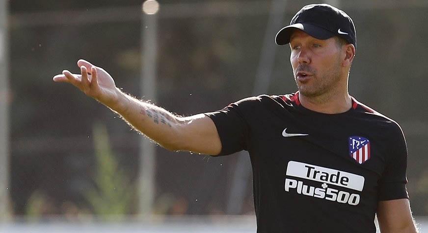 Patrocina al Atlético de Madrid, foto de Diego Simeone (entrenador)