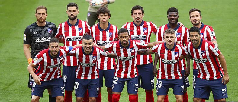 Plus500 patrocinando al Atlético de Madrid