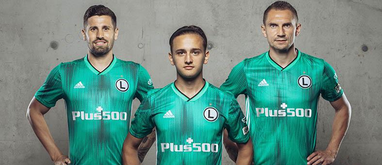 Patrocinador oficial del equipo de fútbol Legia de Varsovia